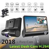 DVR recorder auto ekran 4'' me 3 Kamera HD 170°