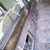 frigorifer banak inox