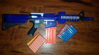 Soft Bullet Gun Storm Blaze M4