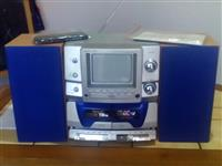 TV radio CD player kasetofon