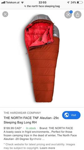 The-north-face-sleeping-bag