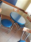 5 komplete me 3 karrige kompleti