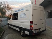 Transport mallrash me furgon