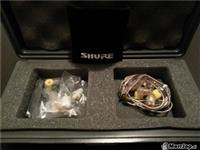 SHURE E5 EARPHONES
