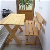 Tavolina - stola