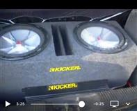 Subwoofer Kicker + AMP Crunch 1500w