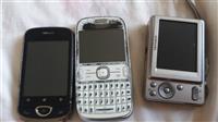 2 telefona + aparat fotografik