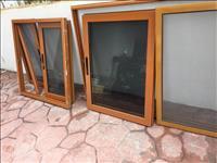 Dritare drualumin te perdorura te mbajtura mir