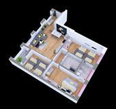 Okazion: Apartament 3+1 per 85.000 euro