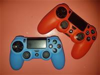 Veshje mbrojtese silikoni per doreza PS4