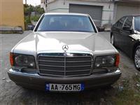 Mercedes Sel 300 benzin+gaz -96