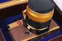Leitz Leica R4 Gold Luxus Edition mit Summilux 50m