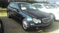 MERCEDES BENZ ELEGANCE CDI 2002 MANUAL C220 NAFTE
