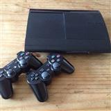 PS3 Super Slim me 2 Leva 500GB