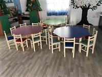 Shiten tavolina dhe karrige per femije