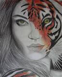 Pikture Femra Tiger