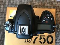 Cámara digital SLR Nikon D750 + 2 tarjetas SD de 3