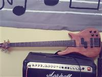 OKAZION BASS 5 STRING!!!