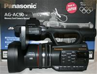 Kamer Panasonic AG AC90 +  accesore per video
