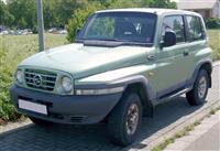 Ssangyong Korando -99 motor Mercedes