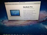 "Mocbook pro 15"" 2009,4gb ram,2,53 procesor,perfekt"