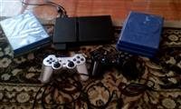Playstation 2 + telefon LG me shine