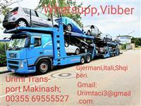 Transport Makinash Itali gjerma Shiperi 0695555270