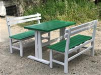 Stola dhe tavolina druri te rinj