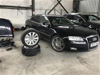 Audi  A8L  3.0tdi 2008 Xhama te zinje origjinale