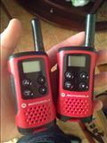Dy radio komunikimi punojne me bateri  4km