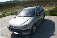 Peugeot 206, 1.4 Benzin/Gaz | Letrat per 1 vit
