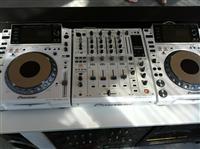 DJ Pioneer CDJ-2000 Nexus Set: 2x CDJ-2000NXS-M