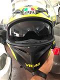 Kokore (Helmete) AGV vr46 + Bluetooth (U SHIT)