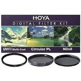 Set HOYA filter UV, ND, dhe polarizues 67mm