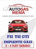 Impiante gazi per makina