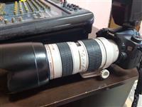 Canon 70d me lente canon 70-200 f2.8