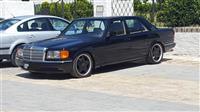 Mercedes SEL 420 V8, Viti 1987 Old Car,Full