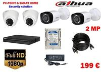 Dahua Set Kamera 2MP Full HD Super Oferte 199€