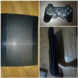 PS3 super slim 500Gb & 1 leve & 1 loje