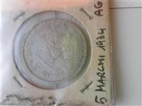 Monedhe argjenti gjermane viti 1934 originale