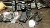 CANON -5D MARK iii me lente 50mm-F1.8 me aksesor s