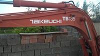 Minieskavatore Takeuci Tb135