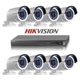 SET 8 KAMERA SIGURIE  HIKVISION TURBO HD