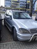 Mercedes ML 320 benzin gas viti 2001