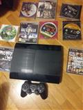 Shitet Sony PS3 200GB + 9 lojera 18000 lek
