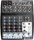 Behringer: XENYX 802  2 channel mic 6 channel tr..