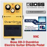 Boss OD-3 Overdrive Pedal per kitare elektrike 99€