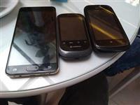 Samsung A7 + Smartphone Android 858 + Nokia Lumia