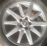 4 disqe e goma Jaguari 17 inch