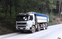 Kamion volvo +Jcb js 235